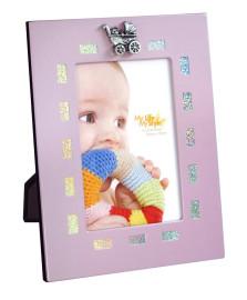 Porta retrato rosa glitter 10 x 15 cm day home