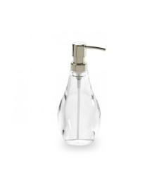 Porta sabonete líquido droplet transparente umbra