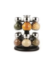 Porta temperos 12 potes globe cozi kitchenware