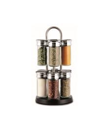Porta temperos 12 potes slim cozi kitchenware