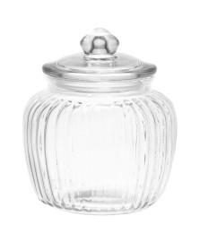 Pote de vidro porta mantimentos pietra 1,4 l lyor