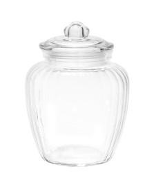 Pote de vidro porta mantimentos pietra 1,9 l lyor