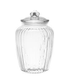Pote de vidro porta mantimentos pietra 2,4 l lyor