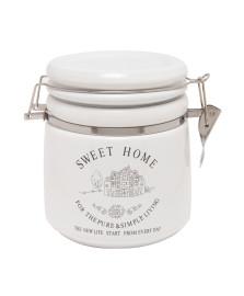 Pote com fechamento hermético porcelana sweet home 13 x15 lyor