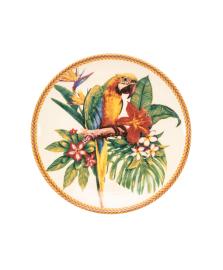 Prato de sobremesa coup amazônia em cerâmica porto brasil