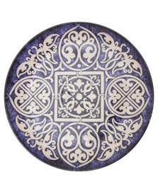 Prato de sobremesa coup ankara em cerâmica porto brasil