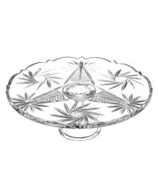 Prato para bolo em cristal ecológico crystalite bohemia