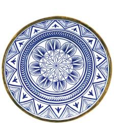 Prato para bolo melamina 41 cm mandala mimo