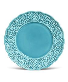 Prato para sobremesa marrakech azul porto brasil