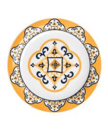 Prato de sobremesa  avulso floreal são luis oxford