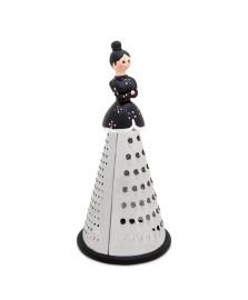 Ralador inox com boneca preto mart