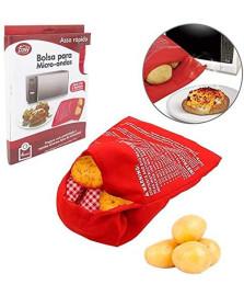 Saco para assar batatas em microondas