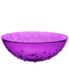 Saladeira 30 cm violeta punto art home