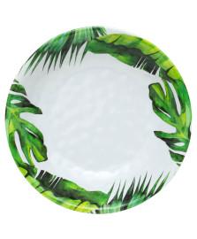 Saladeira de melamina leaves 35 cm bon gourmet