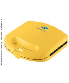 Sanduicheira minigrill colors amarela cadence 127v