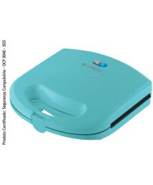Sanduicheira minigrill colors azul cadence 127v