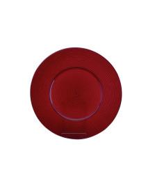 Sousplat 34 cm vermelho studio collection
