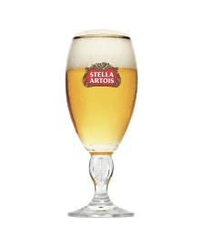 Taça para cerveja 250 ml cálice stella artois