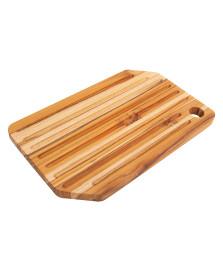 Tábua para cortar pão migalheira normandia madeira teca monte novo