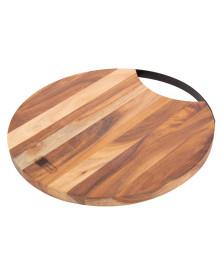 Tábua redonda de corte madeira james.f