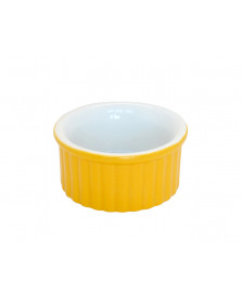 Tigela ramequin 10 cm amarela ceraflame