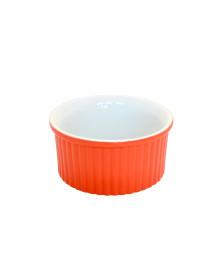 Tigela ramequin 10 cm laranja ceraflame