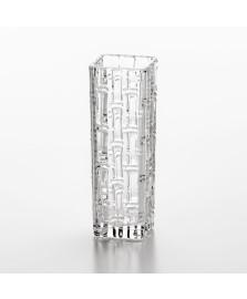 Vaso bambu 18 cm de vidro lyor