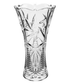 Vaso acinturado pinwheel 30 cm cristal bohemia