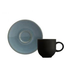 Jogo de xicaras para  cafe coup stoneware lazuli porto brasil.