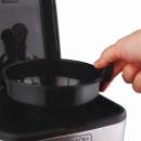 Cafeteira programável jarra inox 30 cafés 127v black decker